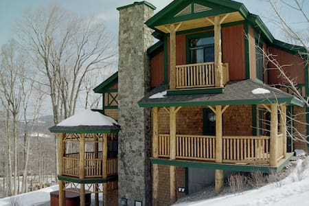 Luxury Stratton Ski In / Ski Out On Mountain Home - Stratton