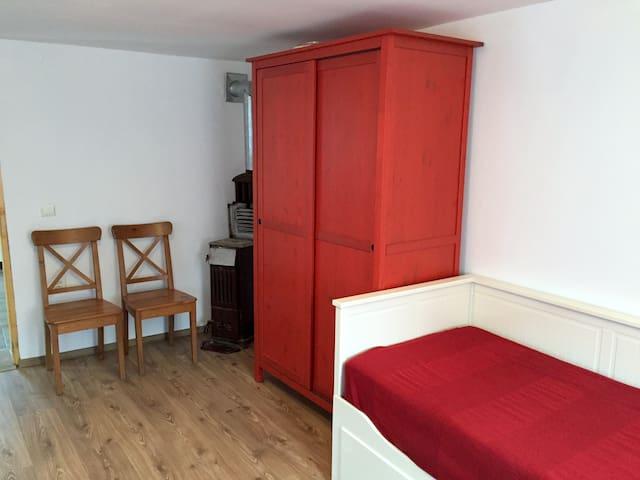 Camera cu mic dejun in Transilvania - Drașov - Huis