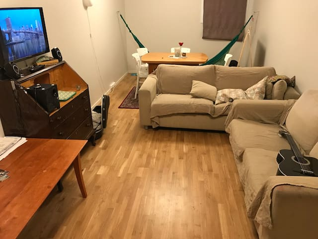 Cozy private room in a family house