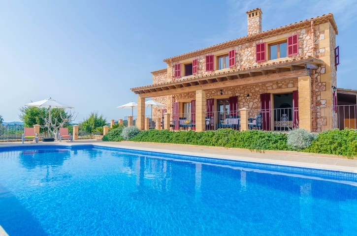 TORRE NOVA DEU - Villa for 10 people in S'ILLOT. - S'ILLOT