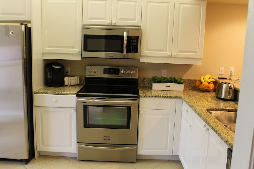 New Stainless Appliances and New Granite