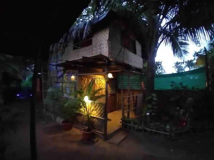 Maya - Double decker bamboo bungalow @ Ashvem.