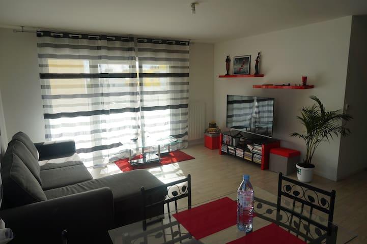 Appartement 3 pièces lumineux et spacieux de 60 m² - Évry - Apartment
