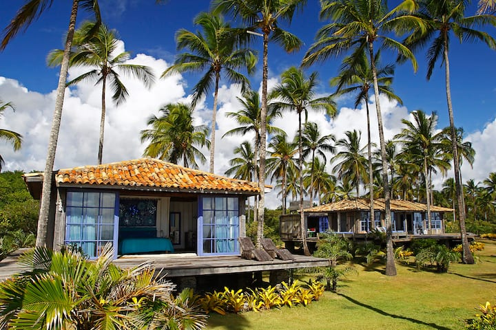 Beautiful house on a 7 kms private beach