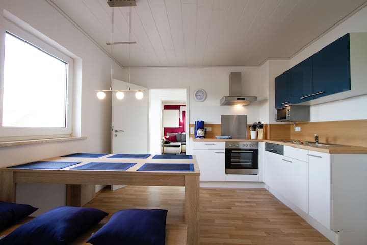 Apartment in small hotel in Franconian Switzerland with terrace