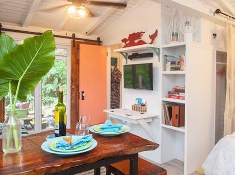 Casa de campo ecológica La Choza cerca de la playa