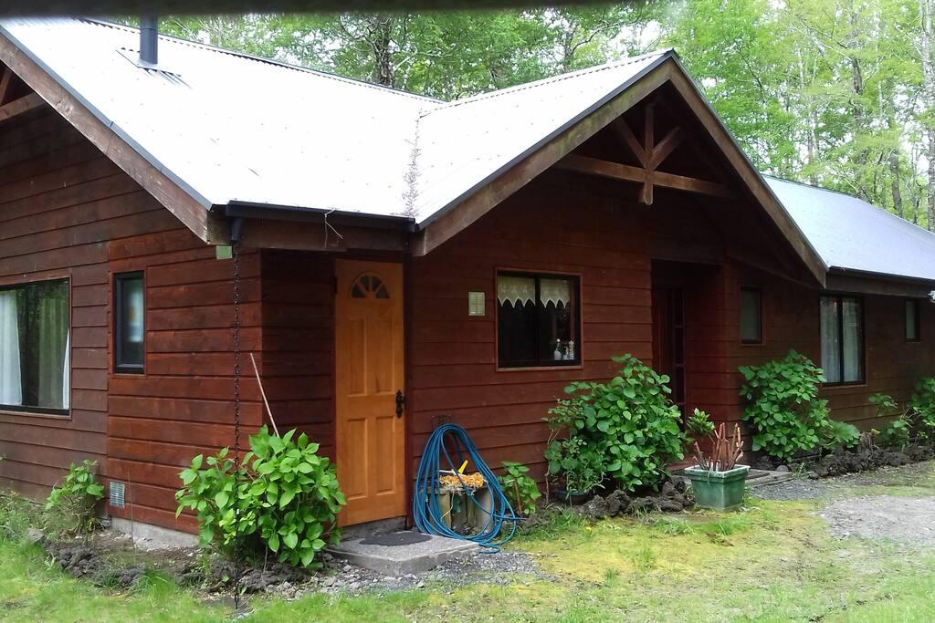 Casa, entrada Logia y Cocina