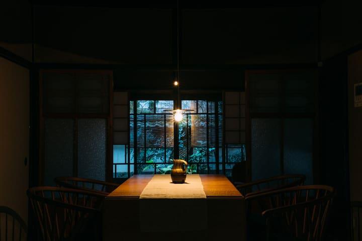 一棟貸し切り|2019.12月OPEN 丹波篠山城下町 中心地にある築100年以上の宿。
