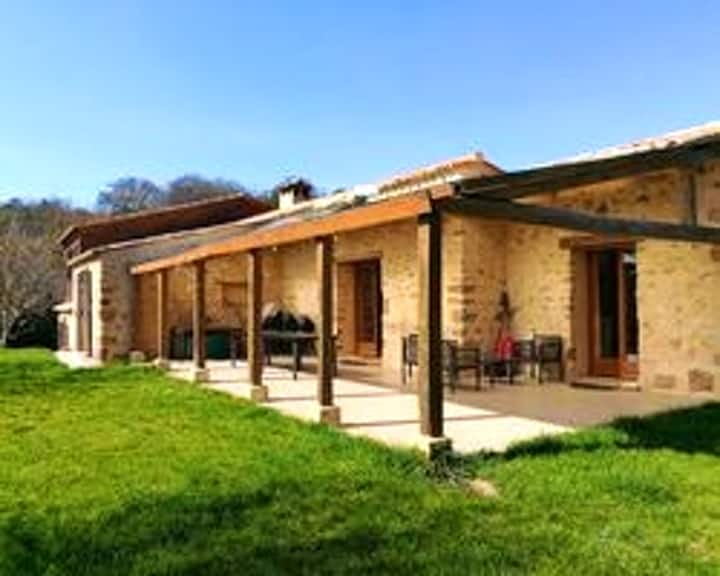 House with 4 bedrooms in Camps sur l'Agly, with enclosed garden and WiFi - 75 km from the slopes