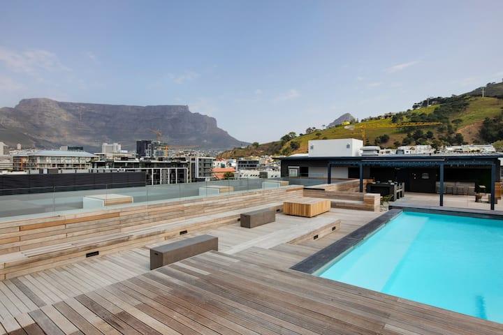 The Porter Portfolio -5th floor, pool and views.