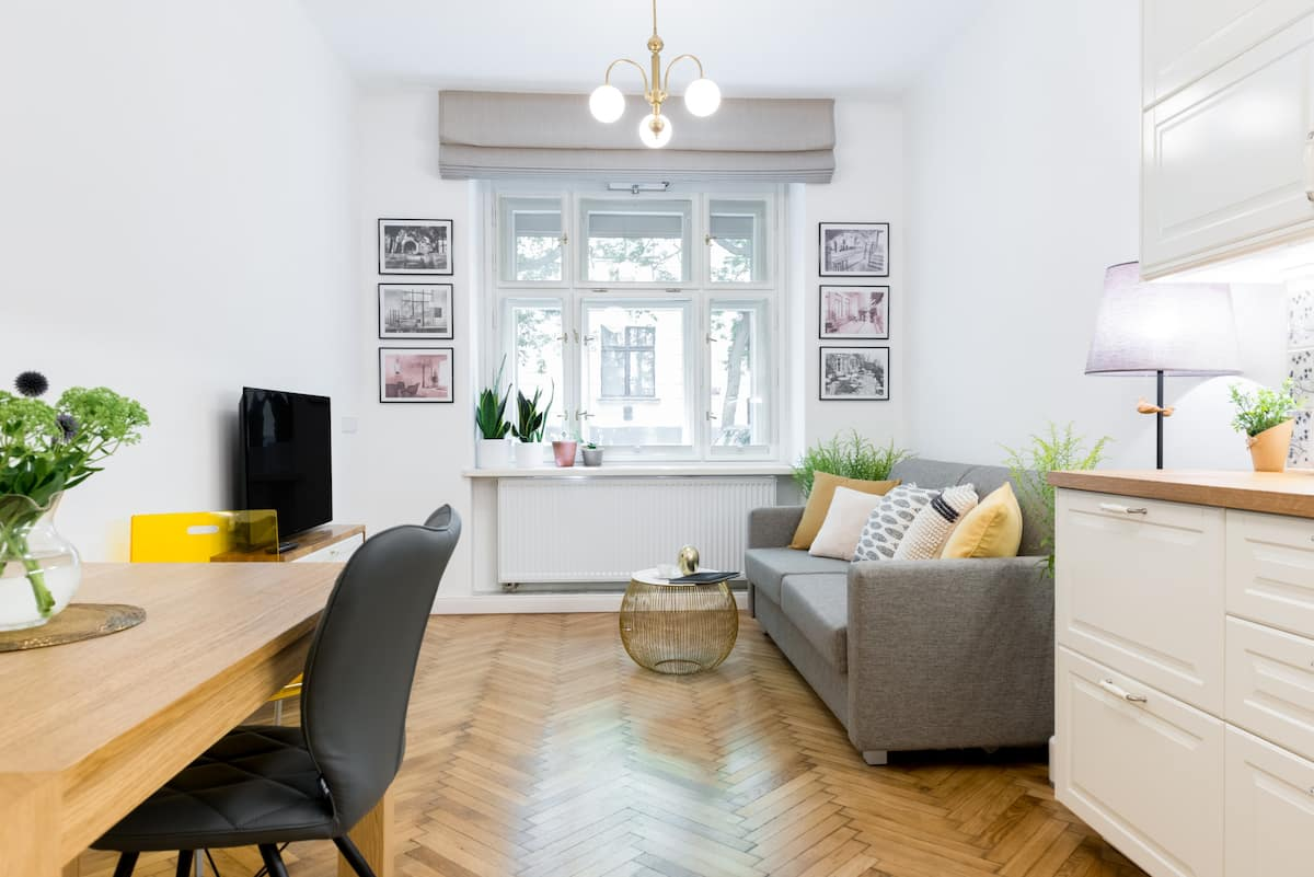 Modern, Stylish Apartment in a Historic Building