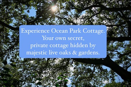 Ocean Park Cottage - Garden by Bay
