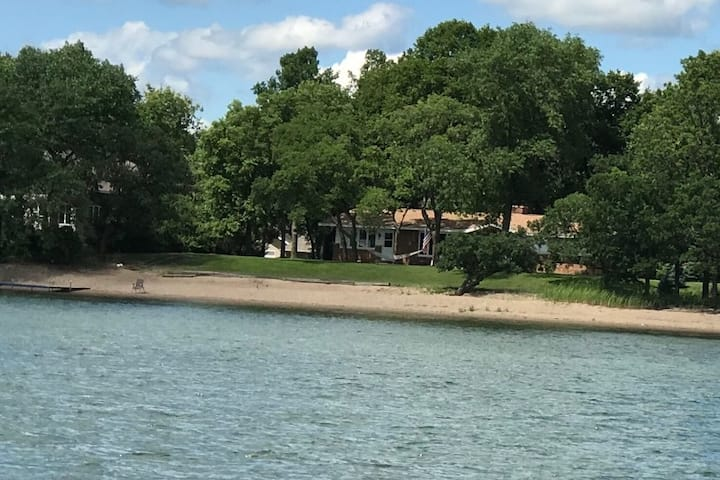 Lake Front Home on West Battle Lake