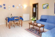 Holiday apartment with 1 bedroom on 40m² in Montefalco PG