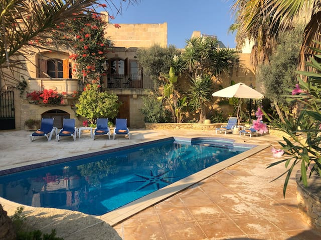 Traditional Farmhouse with Pool in Gozo, Malta