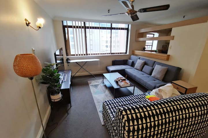 2 Beds Cozy Apartment in CBD 1mins to QVB&Townhall