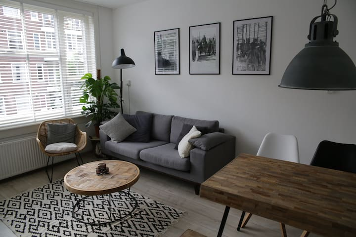 Spacious apartment with two separate bedrooms - Amsterdam - Apartament