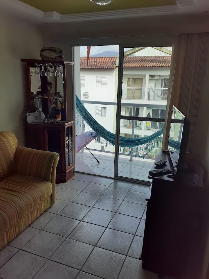 Apartamento para quem quer tranquilidade na praia.