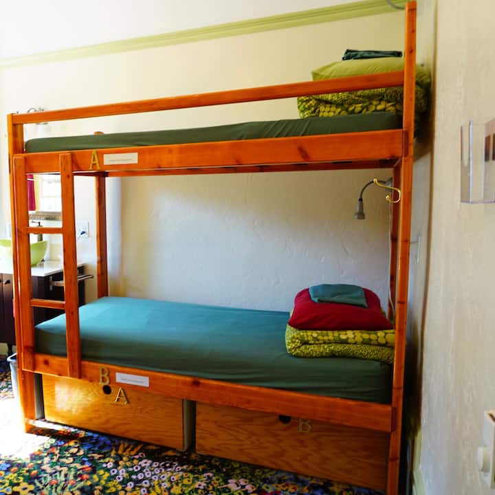 Private Bunk Bed Room @SF Hostel #2