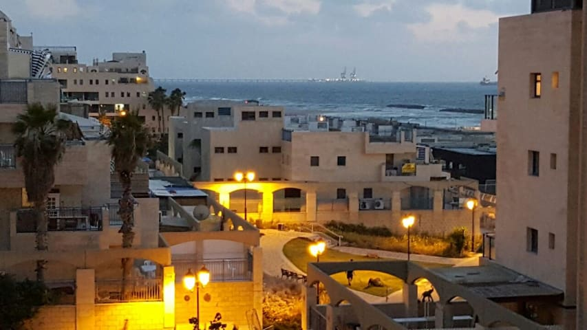 Luxury apartment by the sea in Ashkelon+Gym+Pool!