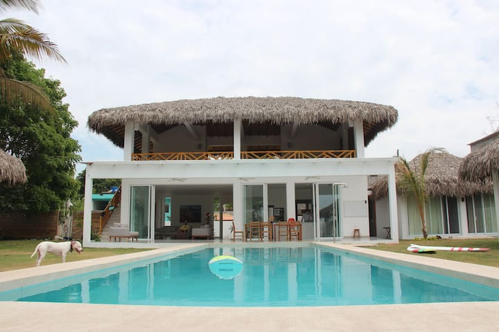 Beachfront King Room with Private Entrance- Athena