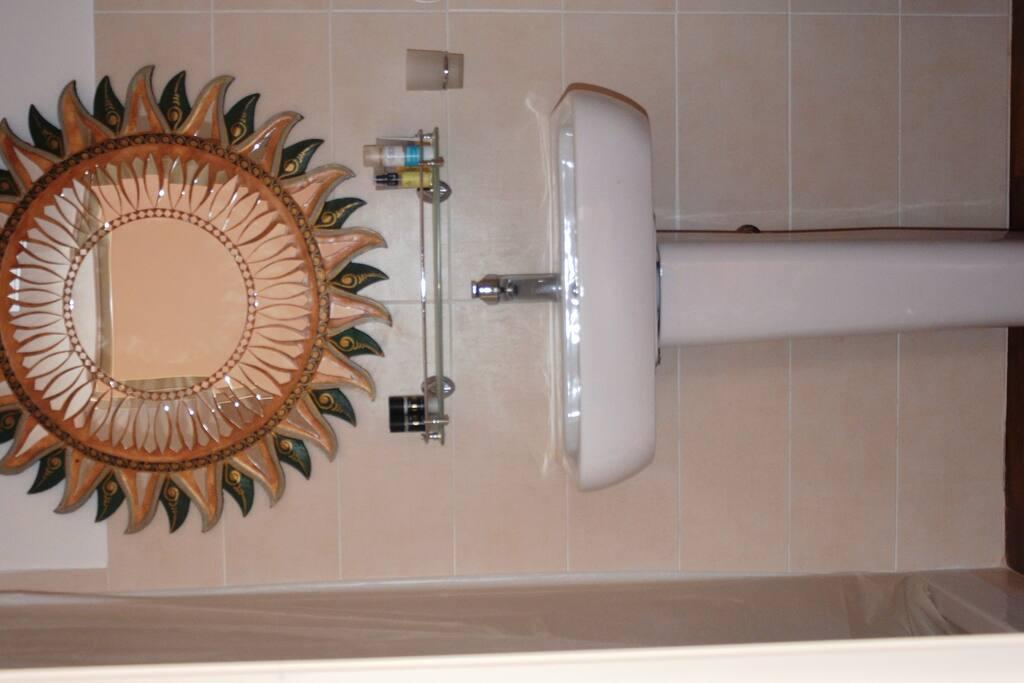 Specchio bagno privato