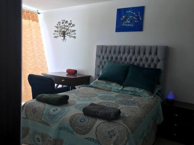 Cama Queen Premium, Baño  y Terraza Privados