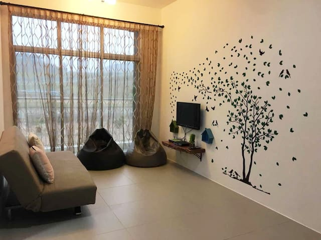 Natural Homestay@GoldenHill/2R/8pax/WIFI/Steamboat
