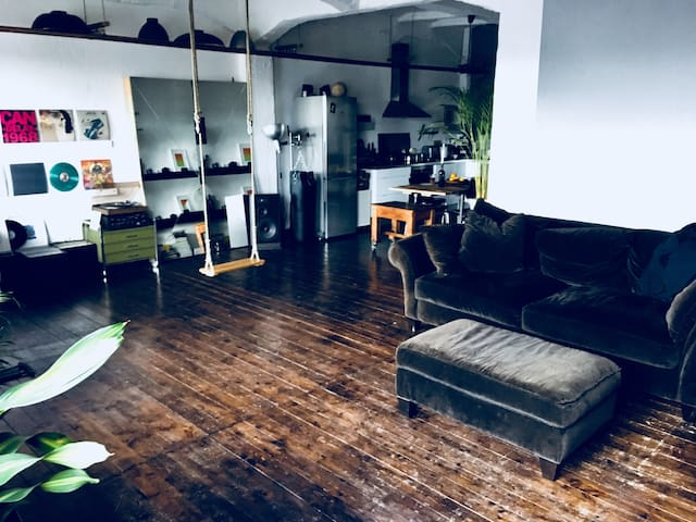 Loft with a character