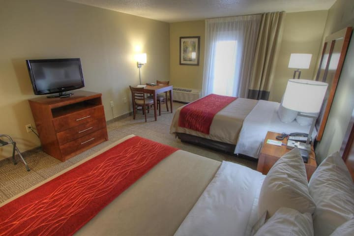 Friendly Double Two Double Beds Non Smoking At Pigeon Forge