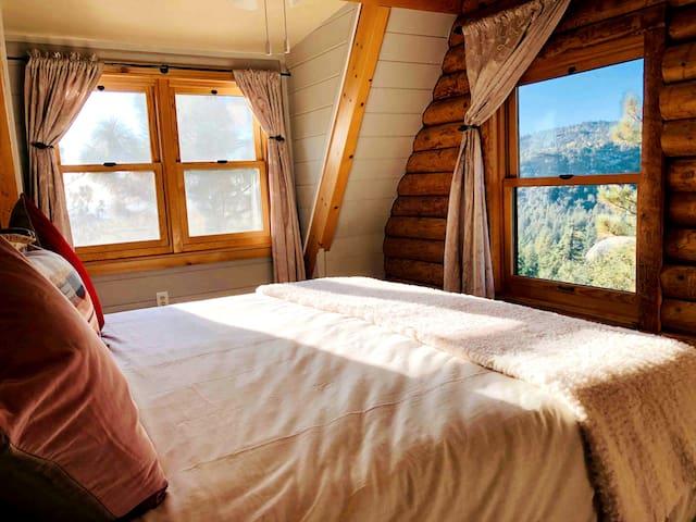 Master bedroom...view...