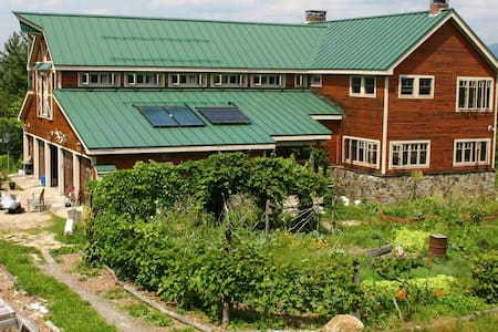 D Acres of NH Permaculture Farm - Yoga Room - Dorchester - Wikt i opierunek