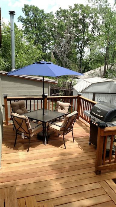 Sun Deck with BBQ grill