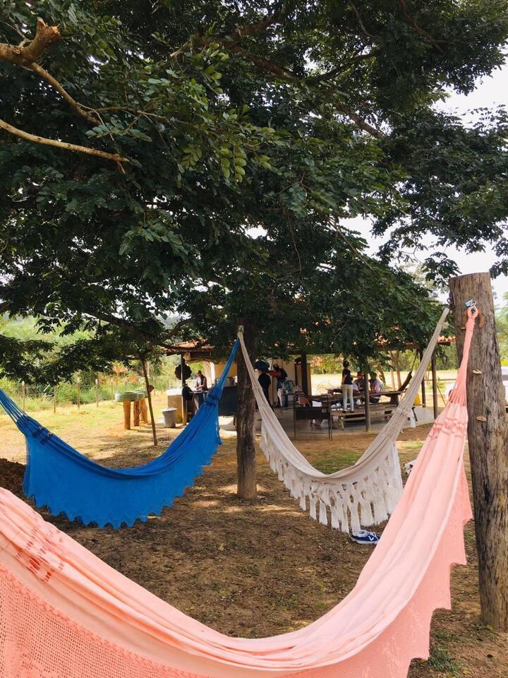 Lindo espaço de camping e eventos, Altiplano Leste