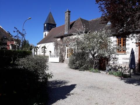 La maison d'Eléonore à proximité de Troyes