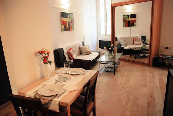 Appartement avec mezzanine - vieux Nice