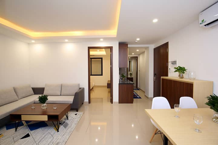 Two bedroom apartment near Nguyen Truong To street