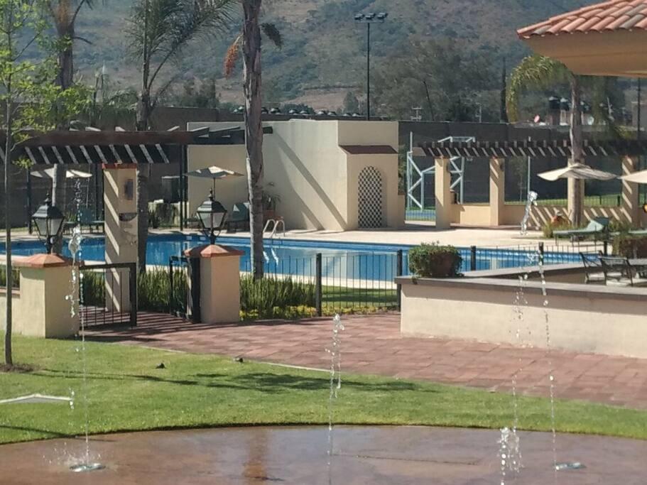 Área de piscina gral.