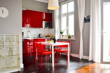 Klimatyczny apartament w kamienicy - Apartment