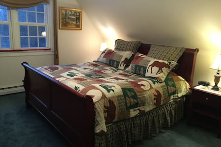 Cozy 1-BR Apartment, near Stowe, VT - Elmore
