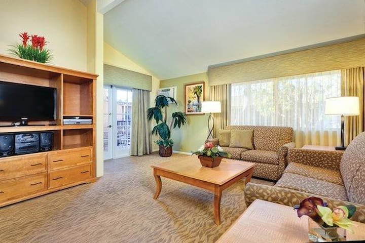 1 Bedroom Unit in Anaheim Dophin's Cove Resort