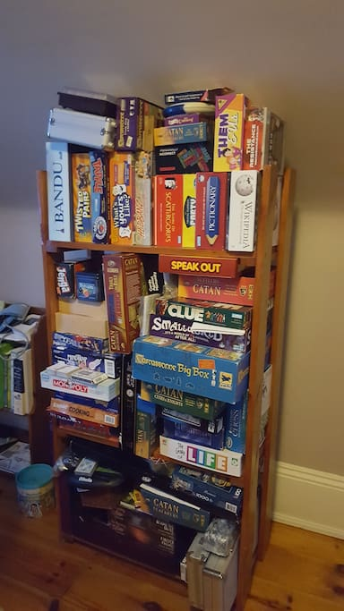 Our game selection.