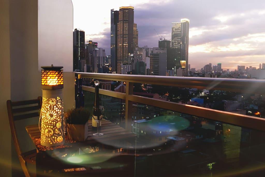 Makati Skyline View