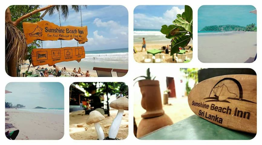 New Sun Shine beach bar - Mirissa - Bed & Breakfast