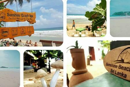 New Sun Shine beach bar - Mirissa