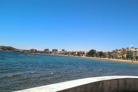 Apartamento segunda línea de playa - Mazarrón - Διαμέρισμα