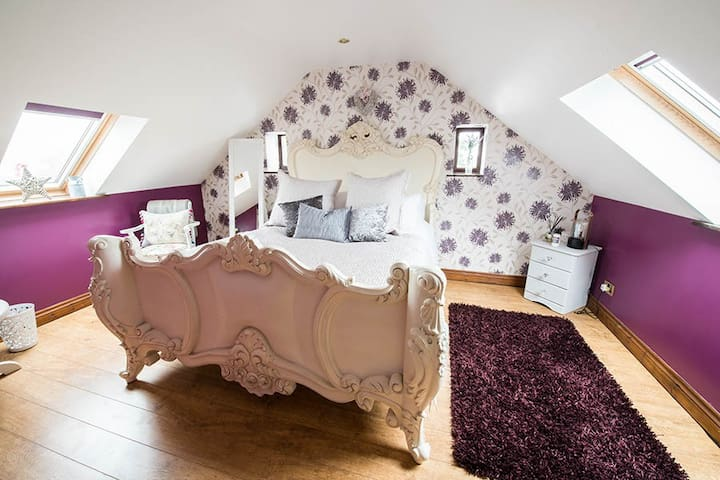 Farm View Hall B&B - The Paddock room - North Yorkshire - Bed & Breakfast