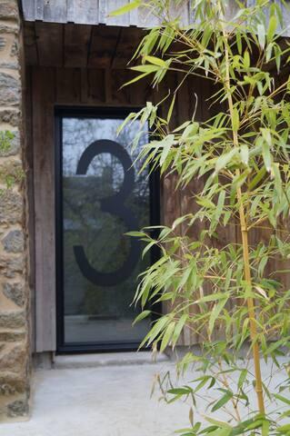 Studio avec terrasse et vue sur Rance