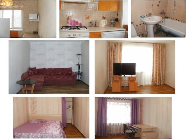 Сдаю квартиру с РЕМОНТОМ в самом ЦЕНТРЕ Рыбинска - Rybinsk - Apartament