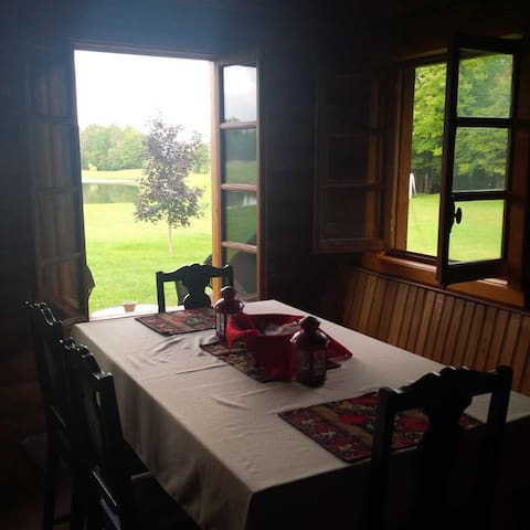 An exceptional view from your kitchen table